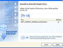 How to make a backup of the Windows registry