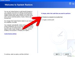 Undoing System Restore in Windows XP
