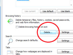 Creating free space on the hard disk