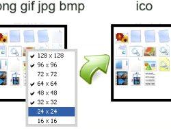 Comment passer une image pour ico