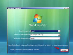 Wie Sie Windows Vista installieren