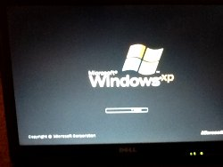 Entfernen der Splash-Screen von Windows XP