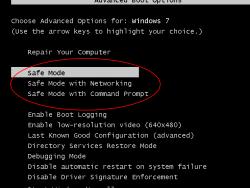 Εκκίνηση σε ασφαλή λειτουργία στα Windows 8